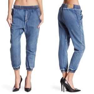 One By One Teaspoon Falcon Cropped Jeans